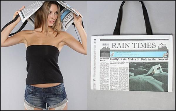 Газета + зонт = сумка - Магазин сумок Busumki.by